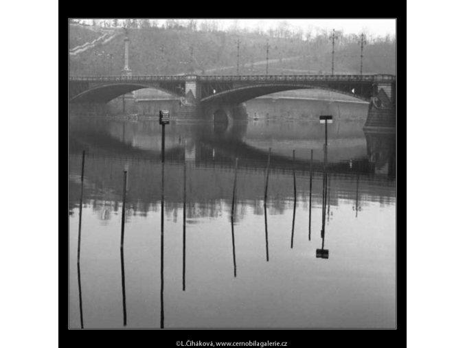 Úvaziště (2629-2), žánry - Praha 1964 leden, černobílý obraz, stará fotografie, prodej