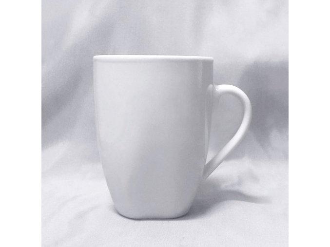 400624 bílý porcelánový hrnek cosmo