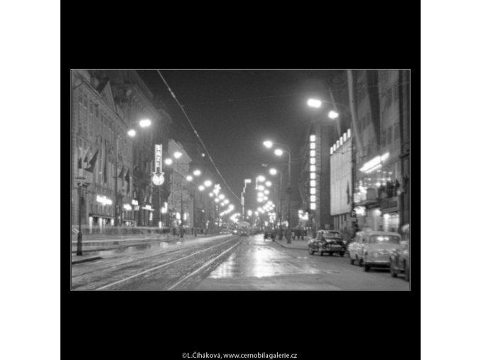 Na Příkopech (2914-2), Praha 1964 květen, černobílý obraz, stará fotografie, prodej