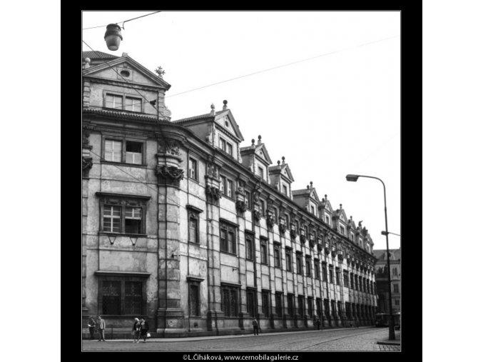 Klementinum (2923-1), Praha 1964 květen, černobílý obraz, stará fotografie, prodej