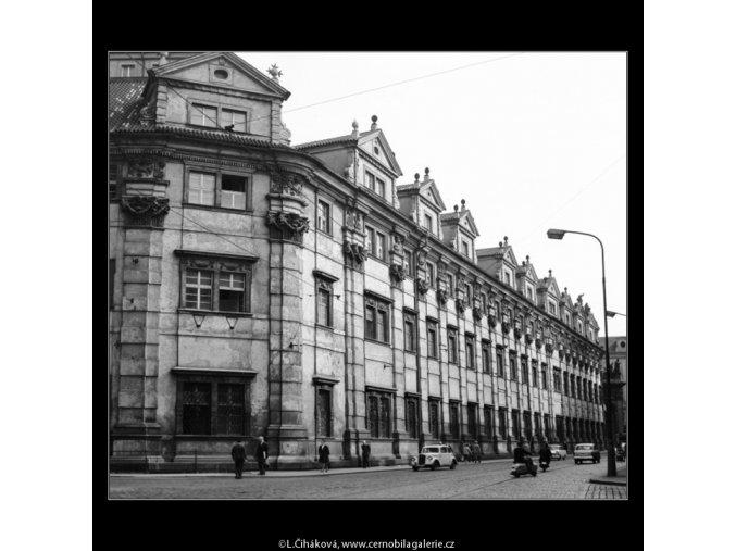 Klementinum (2923-2), Praha 1964 květen, černobílý obraz, stará fotografie, prodej