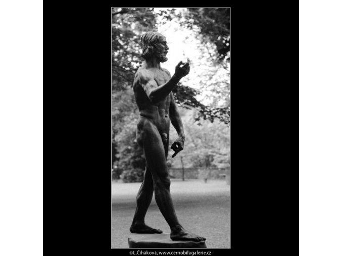 Mojžíš (2957), Praha 1964 květen, černobílý obraz, stará fotografie, prodej