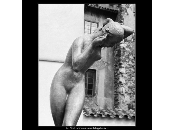 Plastika (2975-1), Praha 1964 červen, černobílý obraz, stará fotografie, prodej