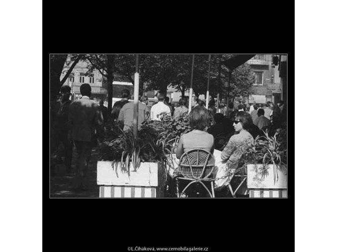 Dvojice (3169-1), žánry - Praha 1964 září, černobílý obraz, stará fotografie, prodej
