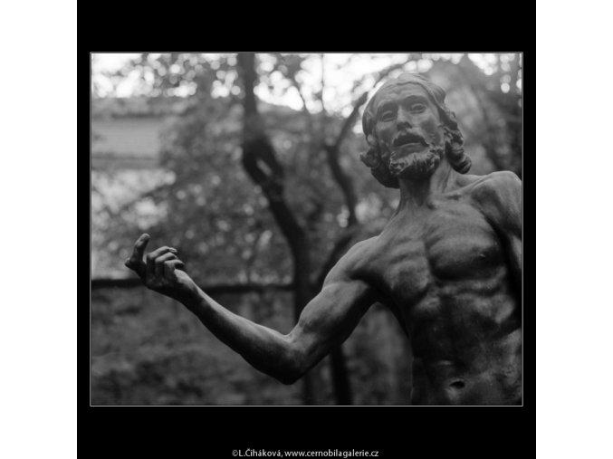 Mojžíš (3278-1), Praha 1964 říjen, černobílý obraz, stará fotografie, prodej