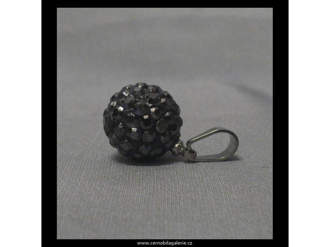 7090 privesek disco ball grafit