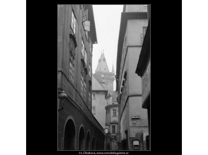 Věž Staroměstské radnice (733), Praha 1959 , černobílý obraz, stará fotografie, prodej