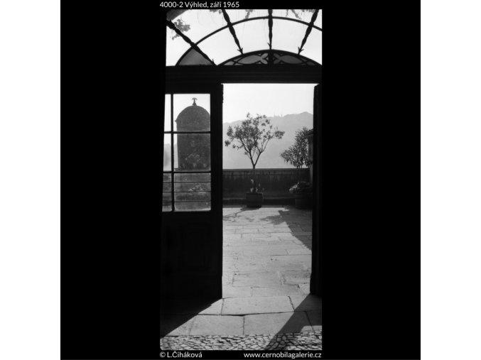 Výhled (4000-2), žánry - Praha 1965 září, černobílý obraz, stará fotografie, prodej