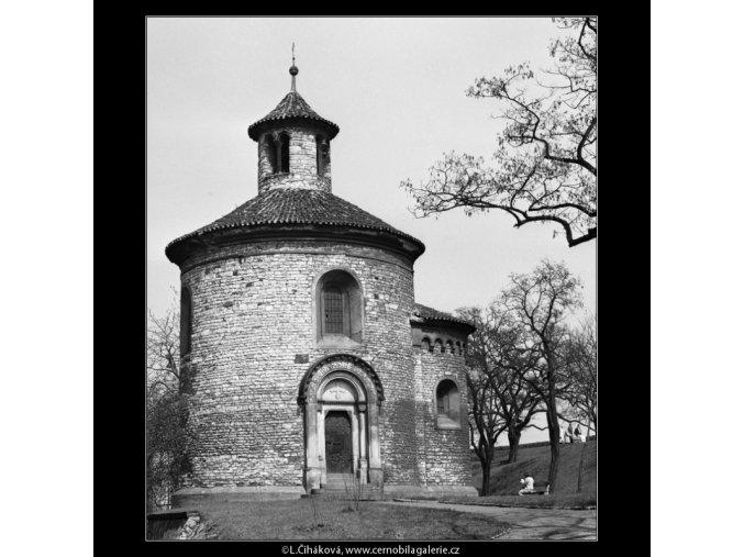 Kaple sv.Martina (2111), Praha 1963 duben, černobílý obraz, stará fotografie, prodej