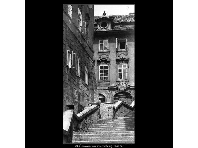 Z Jánského vršku (4583-3), Praha 1966 červen, černobílý obraz, stará fotografie, prodej