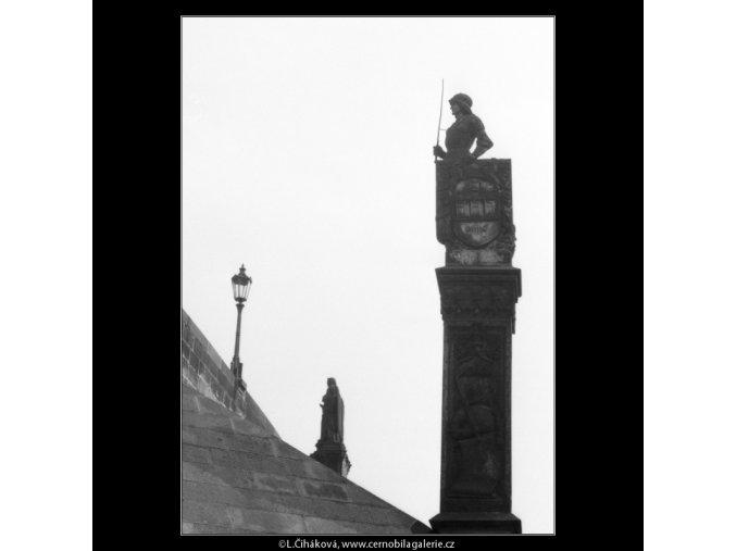 Bruncvík (2402), Praha 1963 léto, černobílý obraz, stará fotografie, prodej