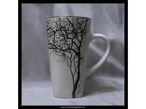 Hrnek strom v bílé