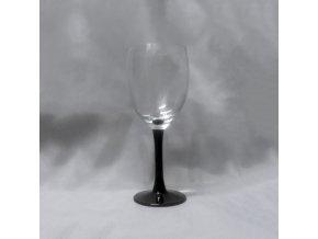 Sklenky Clarity Black víno