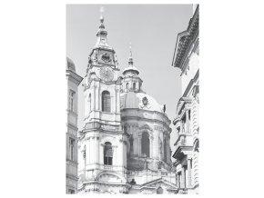 100166 I Pohlednice věže chrámu sv. Mikuláše, Praha 1967