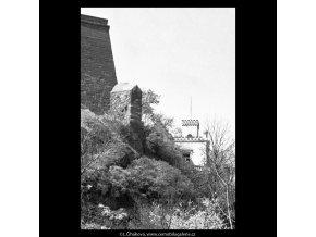 Pod Vyšehradem (5265), žánry - Praha 1967 duben, černobílý obraz, stará fotografie, prodej