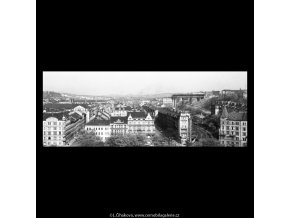 Stavba nuselského mostu (5290-6), žánry - Praha 1967 květen, černobílý obraz, stará fotografie, prodej