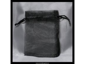 Sáček organza černý