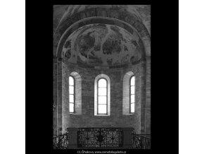 Kostel sv.Jiří  (5299-4), Praha 1967 květen, černobílý obraz, stará fotografie, prodej
