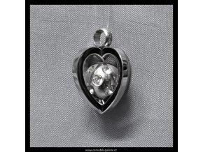 10861 privesek srdce 3d
