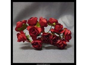 Růžičky červené