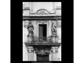 Loreta (5349), Praha 1967 květen, černobílý obraz, stará fotografie, prodej