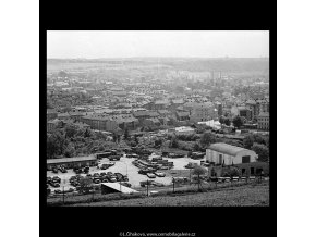 Praha jako na dlani (5368), Praha 1967 červen, černobílý obraz, stará fotografie, prodej