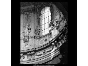 Z pražských kostelů (5361), Praha 1967 červen, černobílý obraz, stará fotografie, prodej