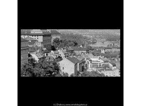 Pohled na Prahu (5410), Praha 1967 červen, černobílý obraz, stará fotografie, prodej