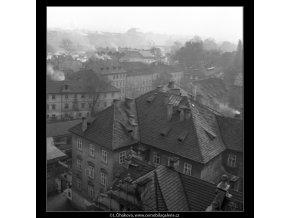 Malostranské stříšky (41-20), Praha 1958 , černobílý obraz, stará fotografie, prodej