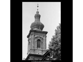 Kostel sv.Salvátora (5414-1), Praha 1967 červenec, černobílý obraz, stará fotografie, prodej