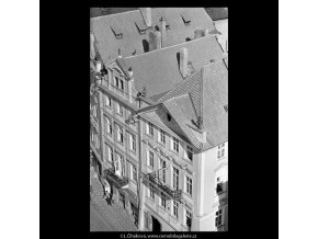 Pražské střechy (5511-6), Praha 1967 srpen, černobílý obraz, stará fotografie, prodej