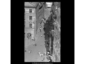 Z věže Staroměstské radnice (5511-7), Praha 1967 srpen, černobílý obraz, stará fotografie, prodej
