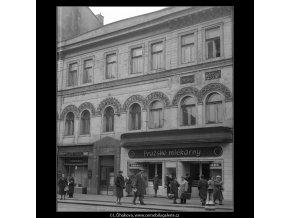 Úmrtní dům K.Havlíčka (65-1), Praha 1958 , černobílý obraz, stará fotografie, prodej