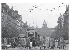 100177 I Pohlednice Václavské náměstí, Praha 1965