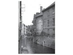 100174 I Pohlednice s Čertovkou, Praha 1960