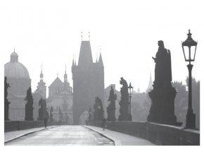 100178 I Pohlednice - Karlův most, Praha 1965