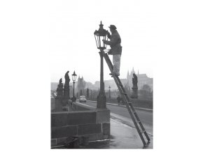 100169 I Pohlednice s motivem z Karlova mostu, Praha 1959