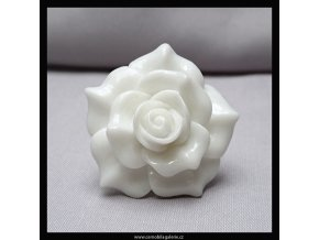 Prsten Růže bílá