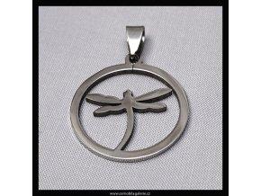 Přívěsek Vážka kruh