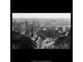 Pohledy na Prahu (5669-3), Praha 1967 říjen, černobílý obraz, stará fotografie, prodej