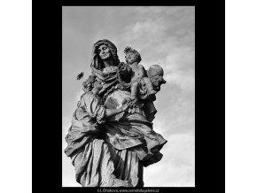 Sv.Anna (5656-2), Praha 1967 říjen, černobílý obraz, stará fotografie, prodej