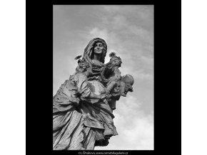 Sv.Anna (5656-1), Praha 1967 říjen, černobílý obraz, stará fotografie, prodej