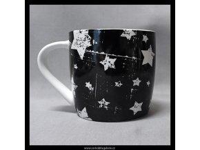 Hrnek Hvězdičky v černé