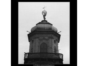 Hvězdárenská věž Klementina (48), Praha 1959 , černobílý obraz, stará fotografie, prodej
