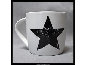 Hrnek Hvězda v bílé