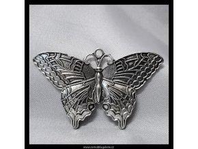 Motýl kovový