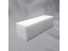 Pilník kvádr bílý