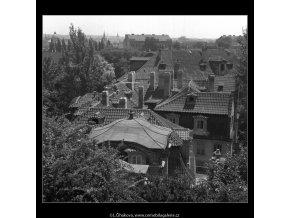 Malá Fürstenberská zahrada (165-6), Praha 1959 červen, černobílý obraz, stará fotografie, prodej