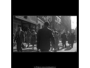 Národní třída (257), Praha 1959 září, černobílý obraz, stará fotografie, prodej