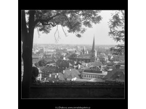 Pohled na Malou stranu (266-6), Praha 1959 , černobílý obraz, stará fotografie, prodej